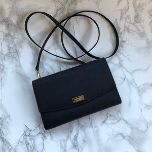 Kate Spade Black crossbody clutch bag